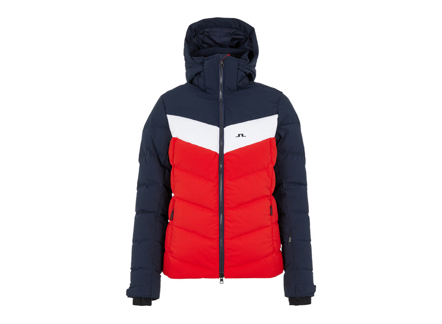 Russel Down Ski Jacket – Racing Red
