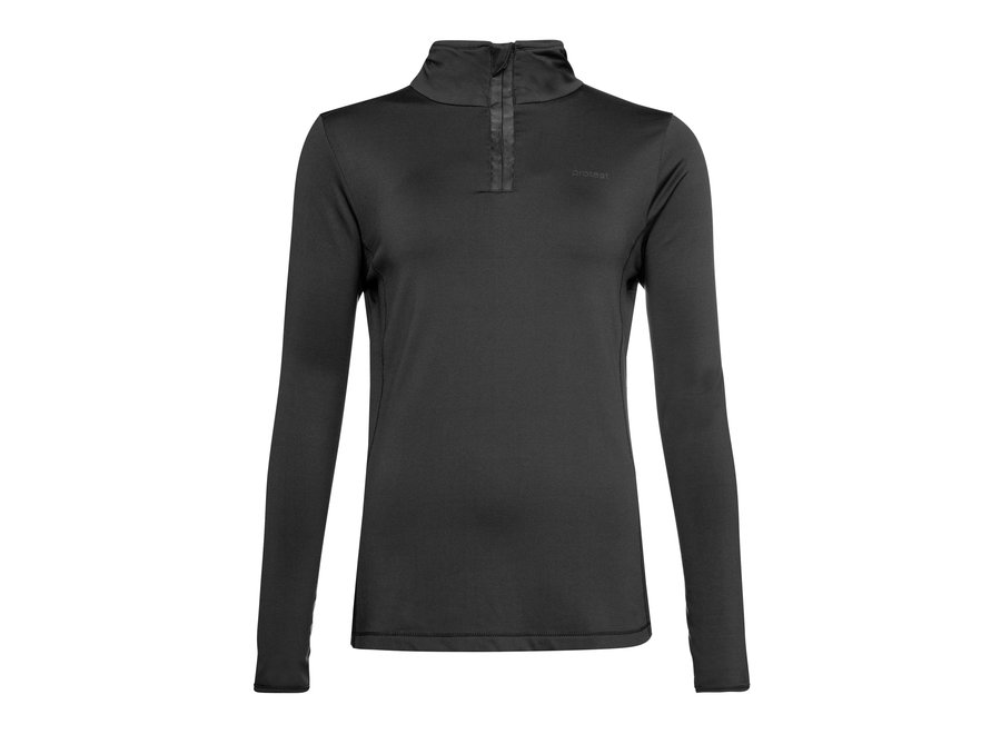 Fabriz ¼ Zip Top – True Black