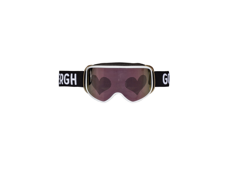 Heart Goggle – White