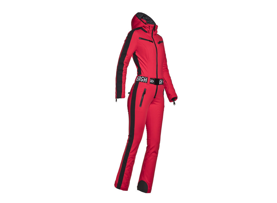 Empress Jumpsuit – Ruby Red