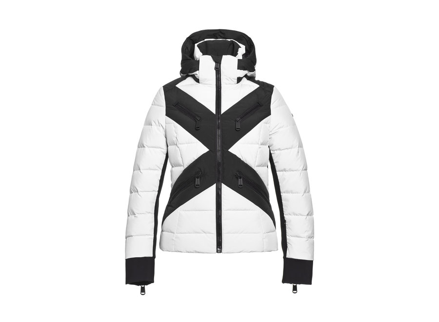 Cross Jacket – White
