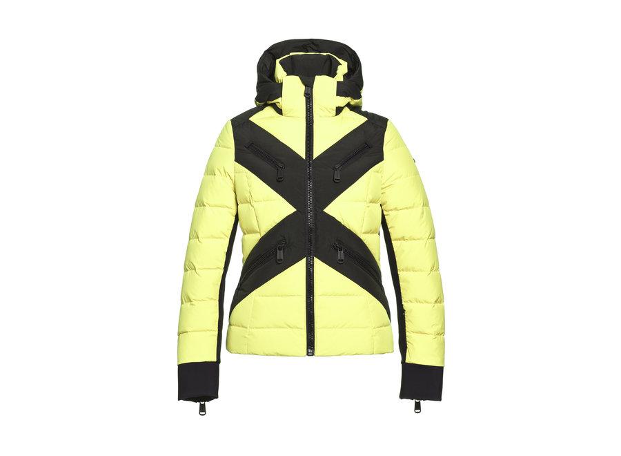 Cross Jacket – Neon Yellow