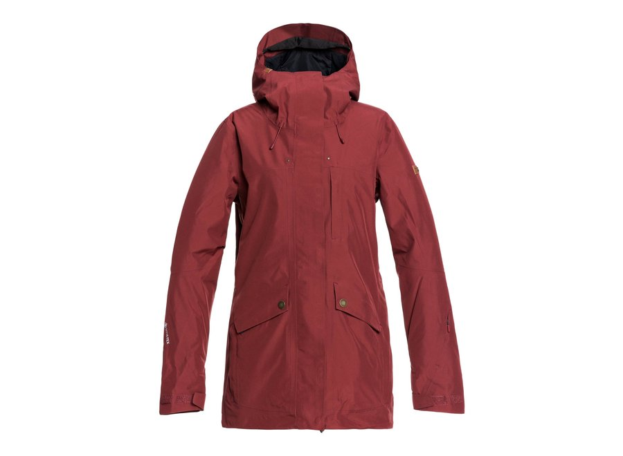 Glade Jacket – Oxblood Red
