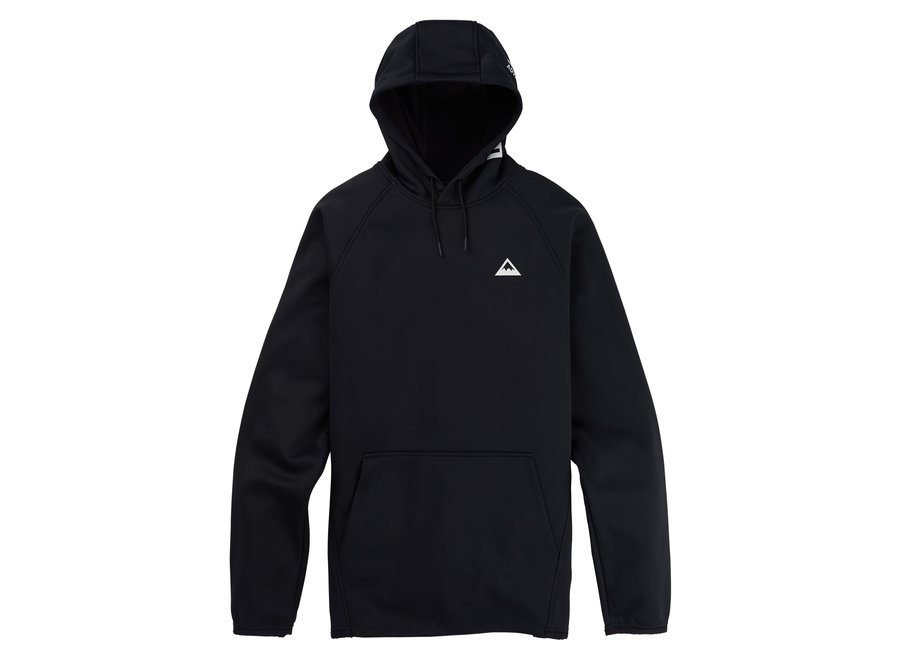 Crown Weatherproof Pullover Fleece – True Black