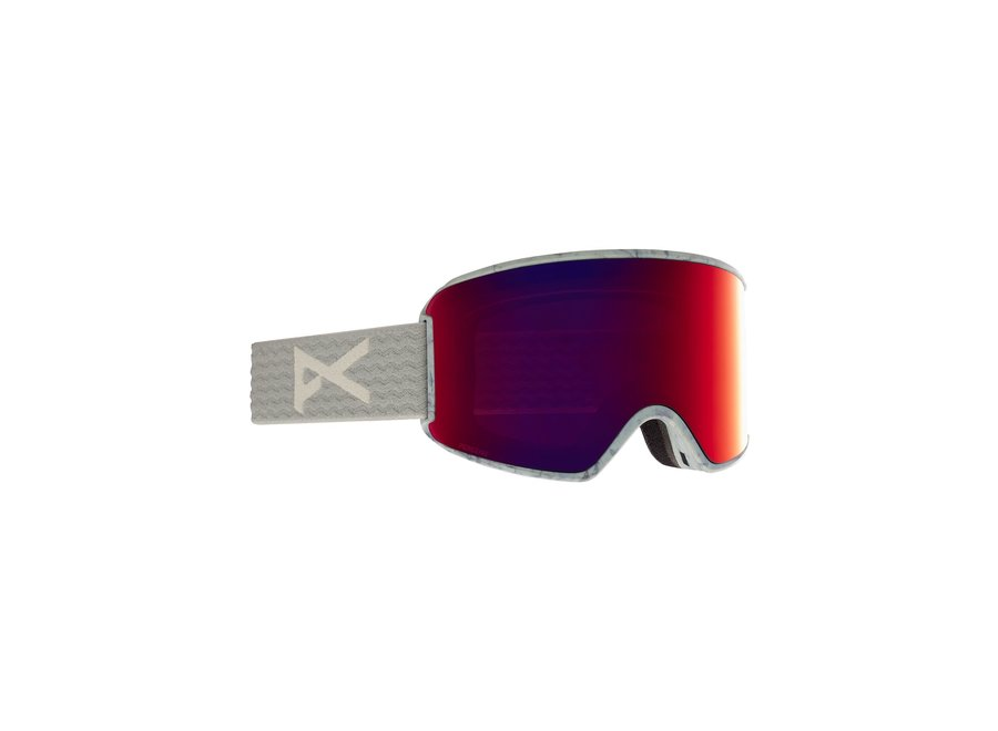 WM3 + Bonus Lens – Gray / Perceive Sunny Red