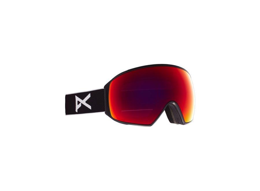 M4 Toric + Bonus Lens + MFI Face Mask – Black / Perceive Sunny Red