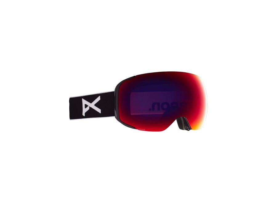 M2 + Bonus Lens – Black / Perceive Sunny Red