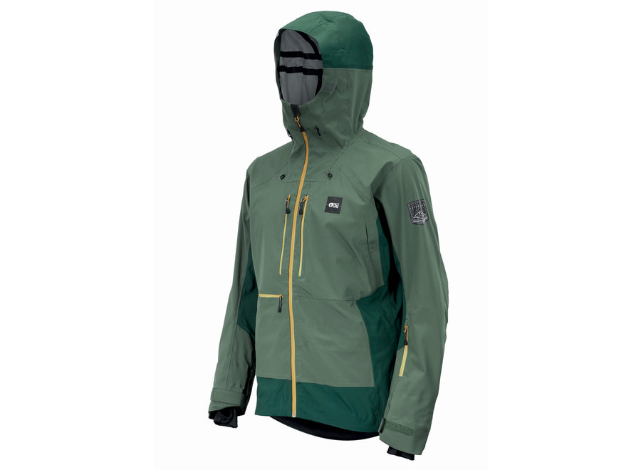 Welcome Jacket – Lychen Green