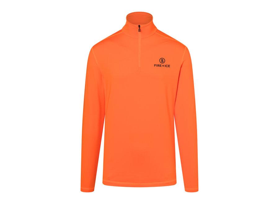 Pascal Shirt – Vibrant Orange