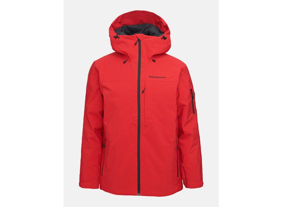Maroon Jacket – The Alpine