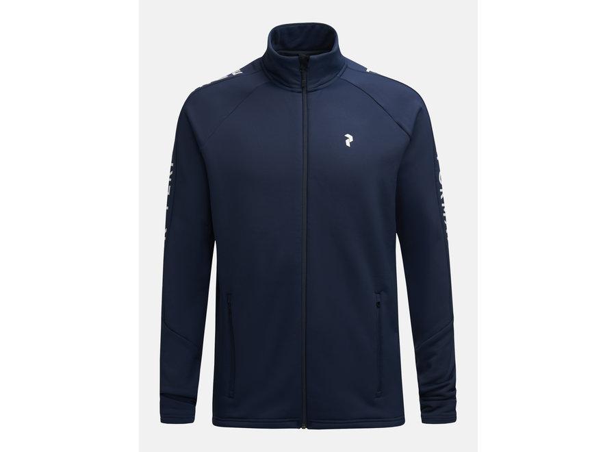 Rider Zip Jacket – Blue Shadow