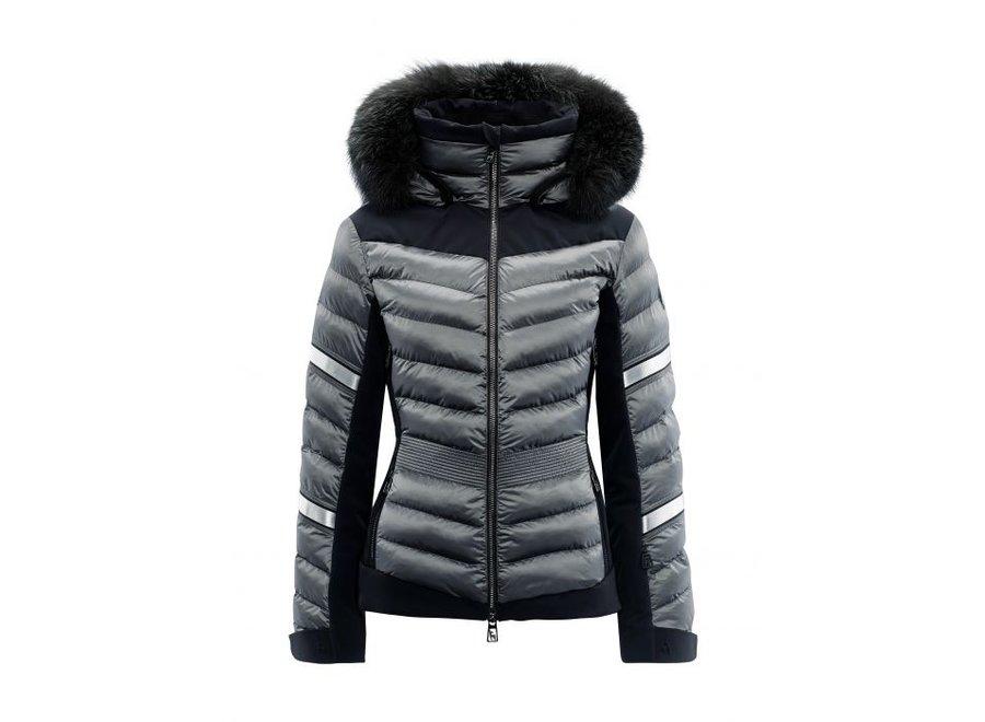 Madita Splendid Fur Jacket – Iron Grey