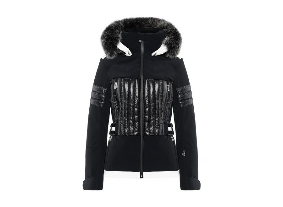 Aggi Fur Jacket – Black