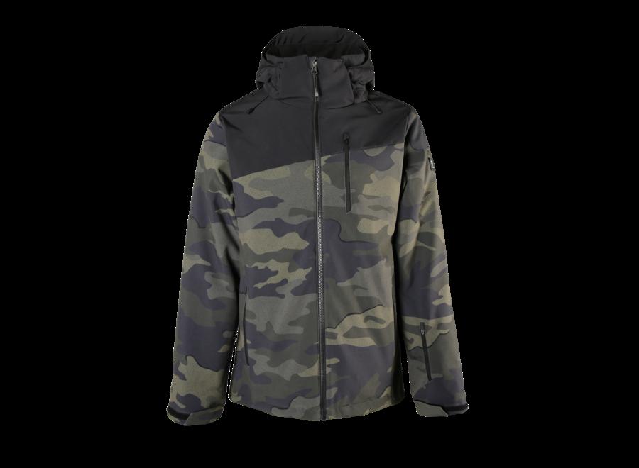 Barry Softshell Jacket – Pine Grey