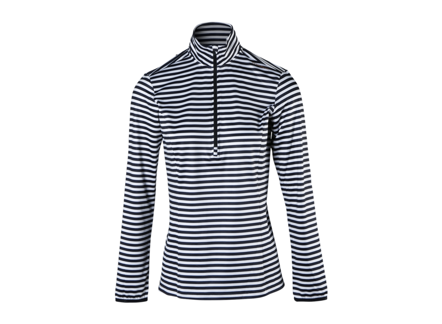 Rodia-stripe Fleece – Black