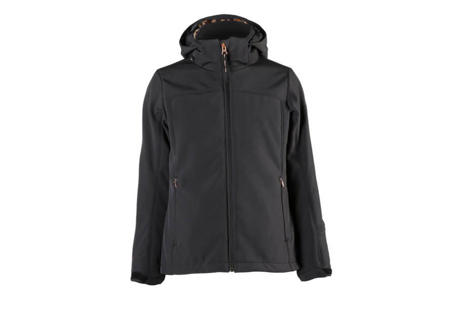 Ariesta-Jr Softshell Jacket – Black