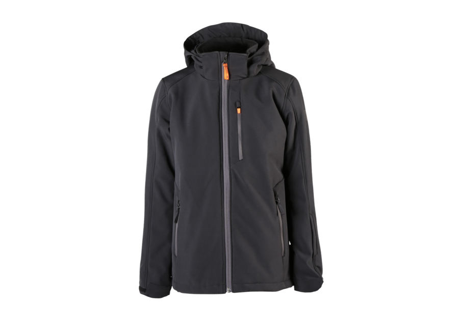 Marsala-Jr Softshell Jacket – Black