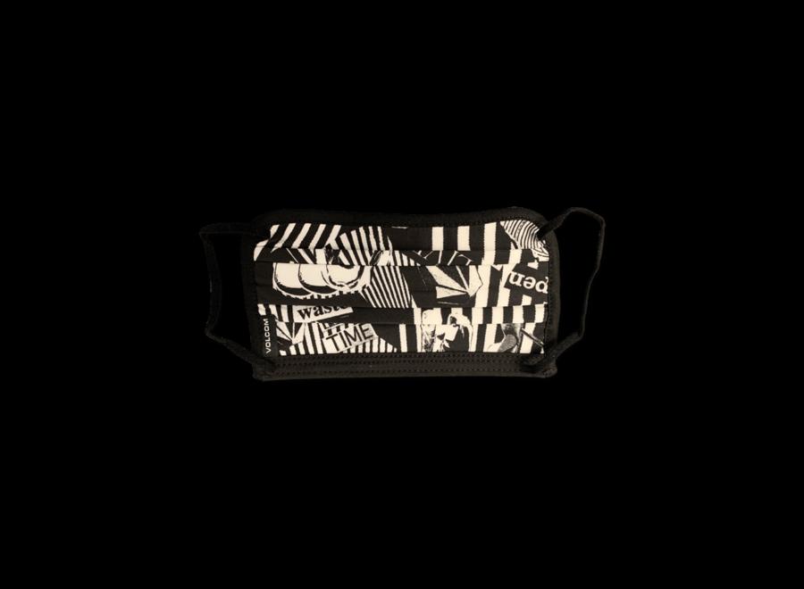 Facemask - White Black