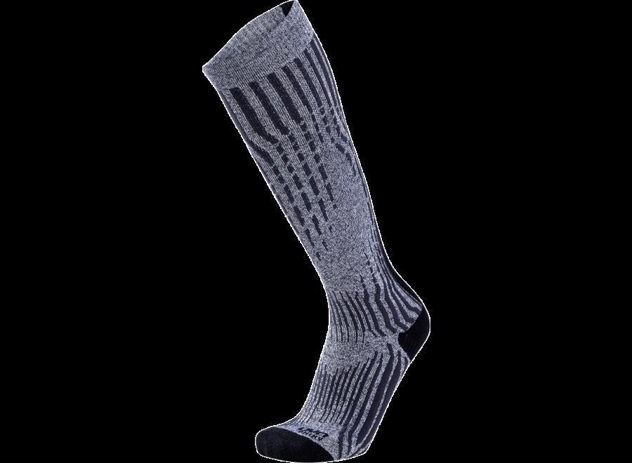 Ski Cashmere Shiny Socks – Celebrity Silver