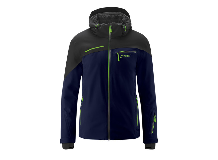 Fluorine Jacket – Night / Green Gecko