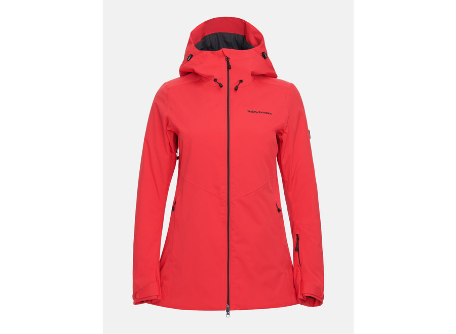 Anima Long Jacket – Polar Red