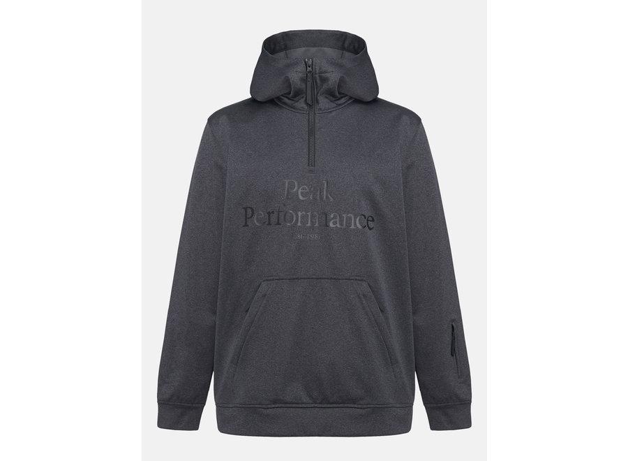 Original Ski SS Hood – Dark Grey Melange