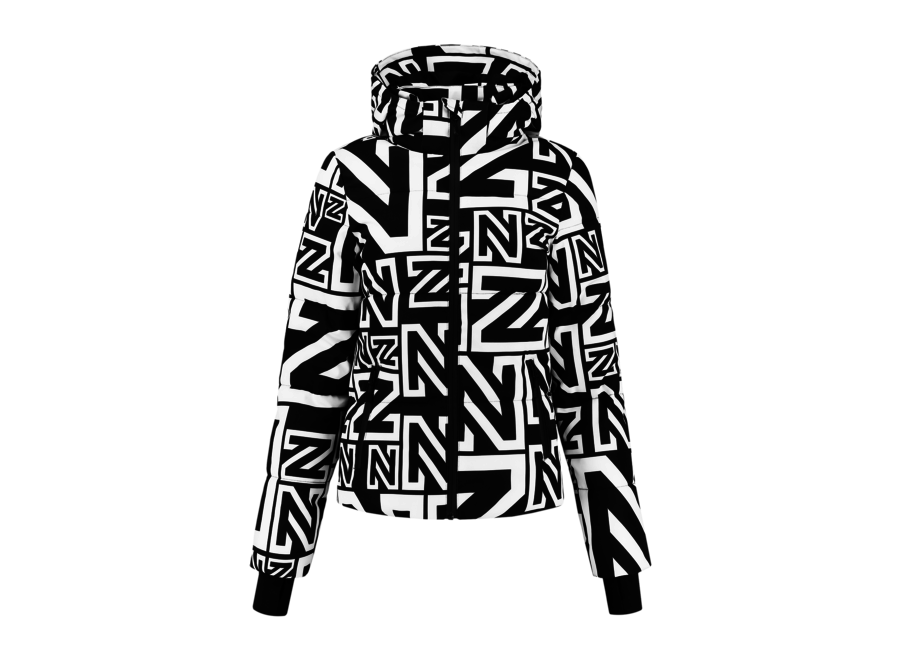 Logo Mix Jacket – Black