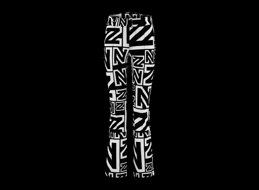 Logo Mix Pant – Black