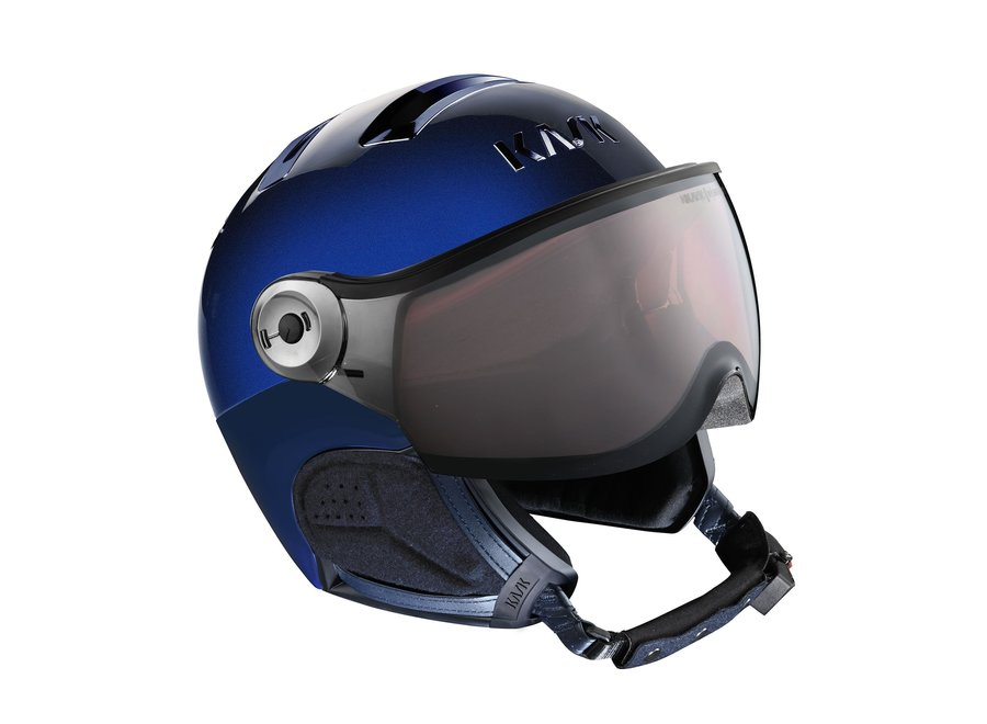 Piuma R Chrome Visor – Blue
