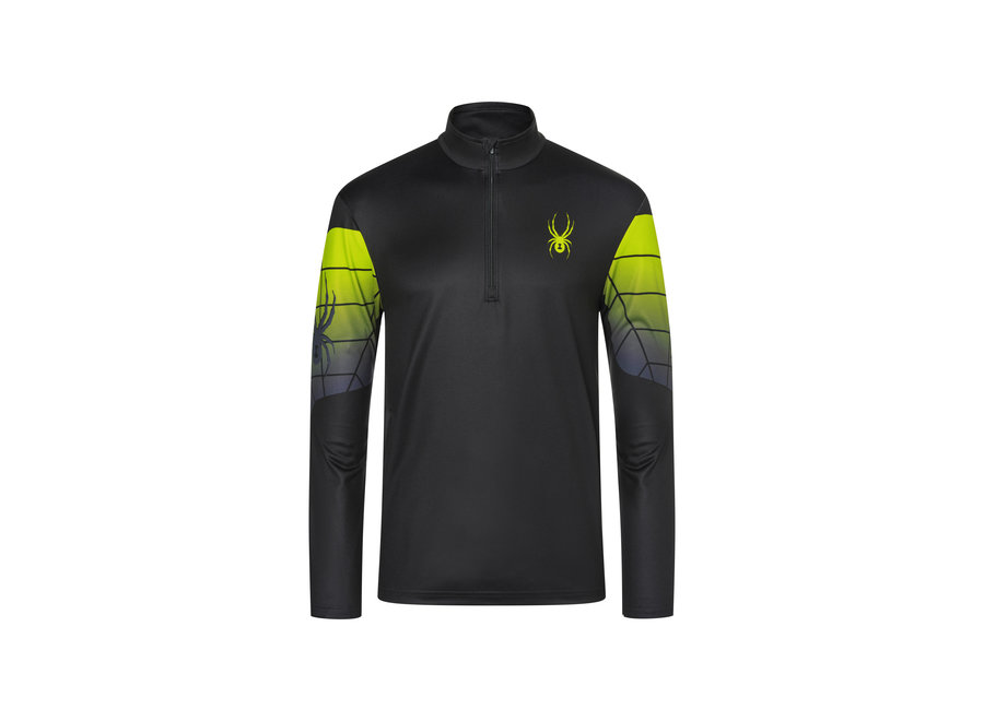 Webstrong Mid Layer – Black Sharp Lime