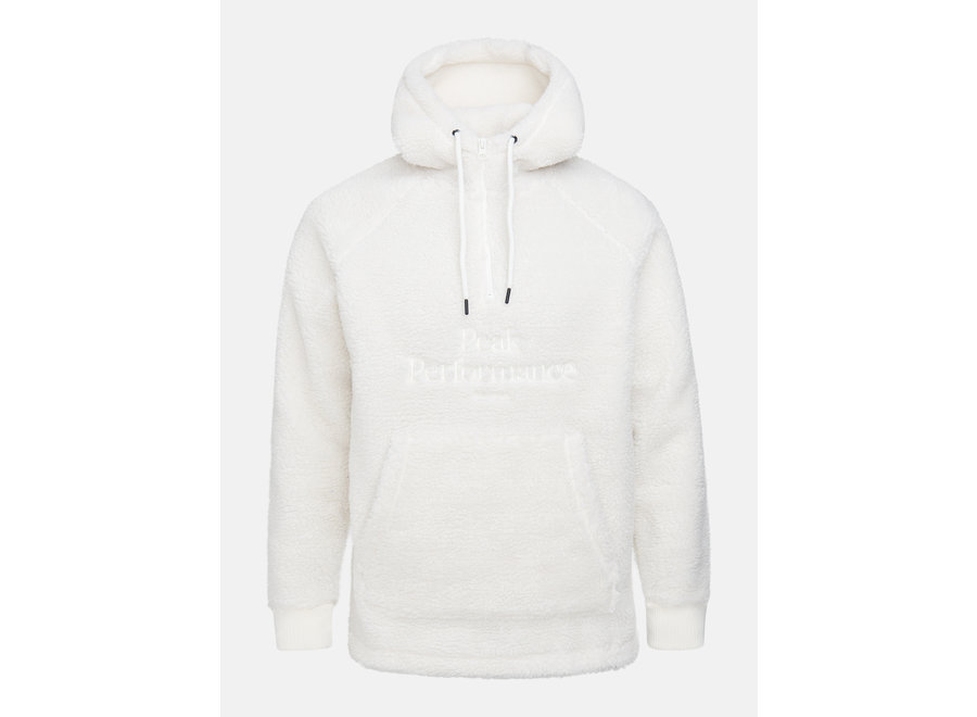 Original Pile Zip Hood – Offwhite
