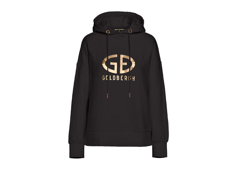 Harvard Hooded Sweater – Black