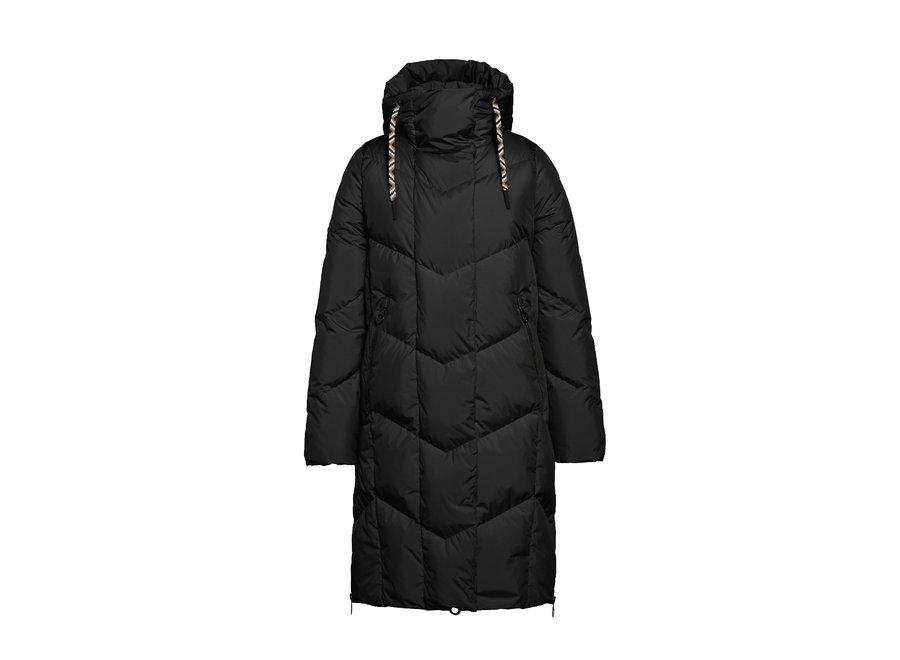 Adele Coat – Black