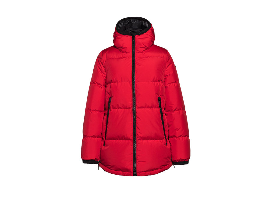 Abby Jacket – Ruby Red