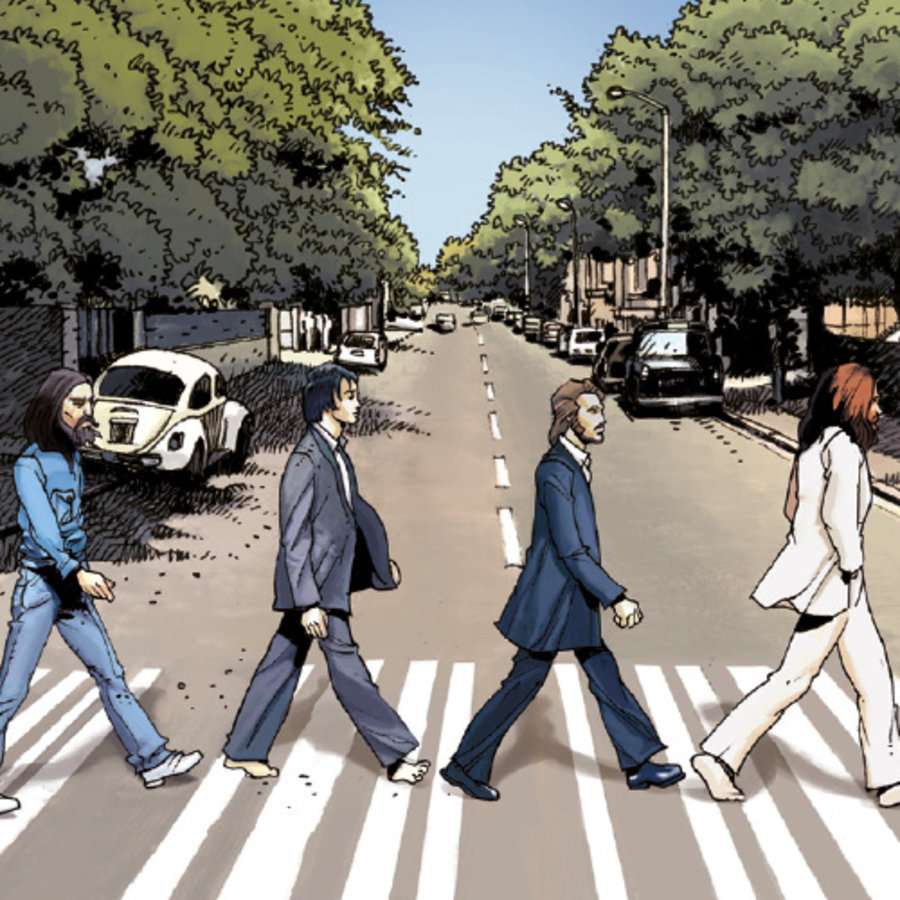 The Beatles in stripvorm