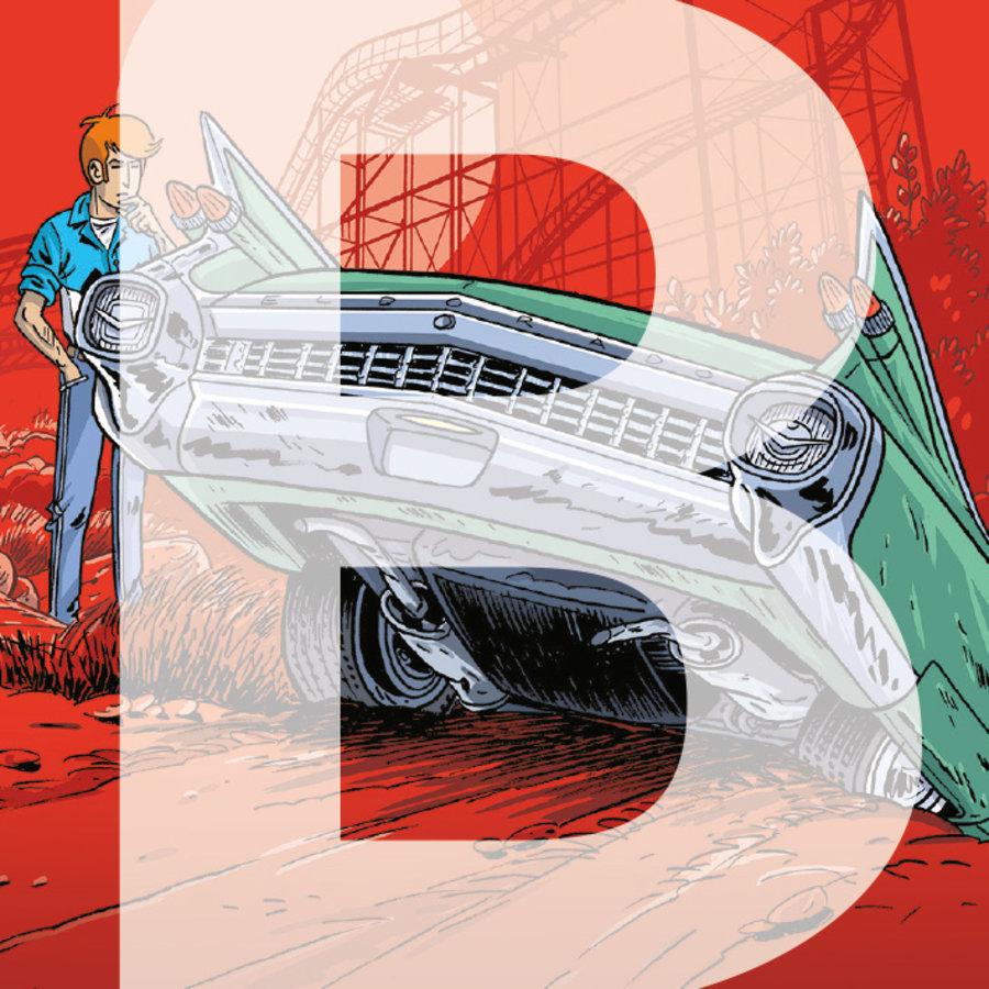 Strips beginnend met B