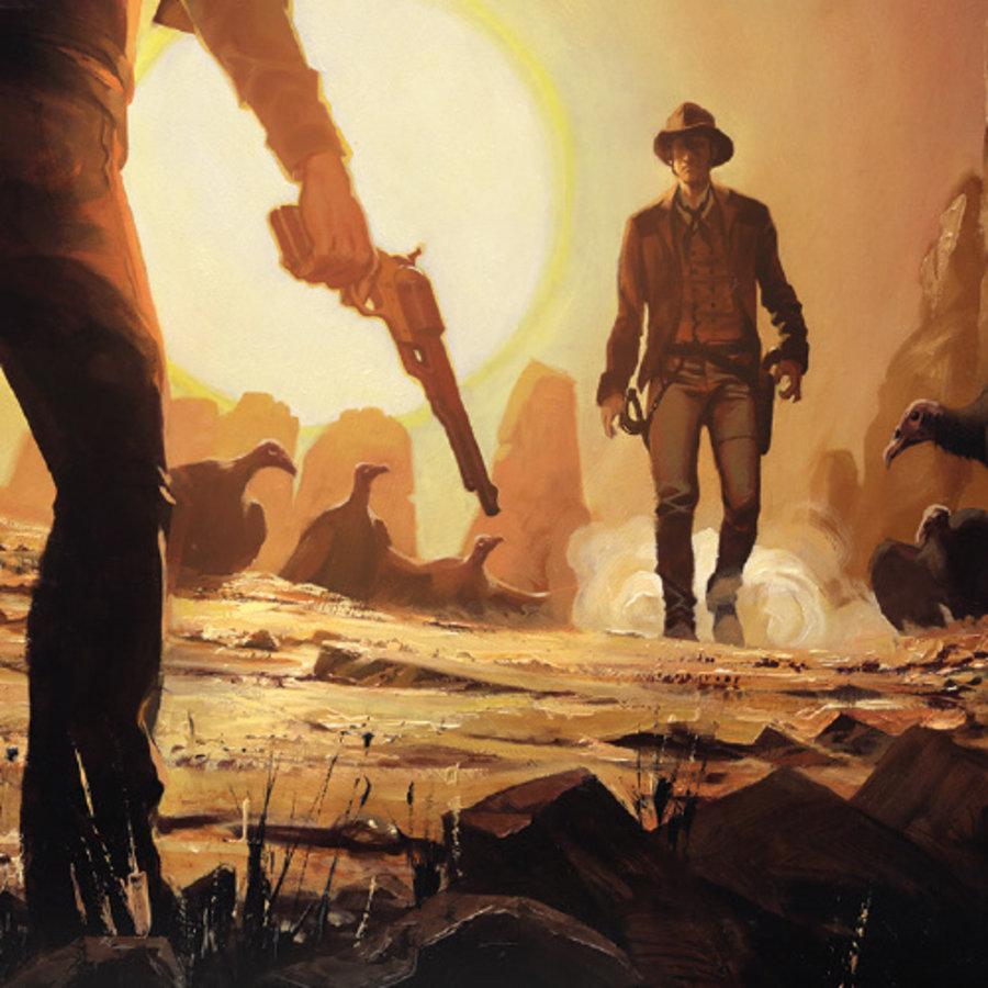 Stick 'm up, cowboy!