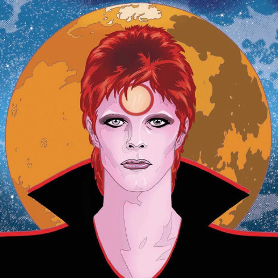 David Bowie, de stripbiografie