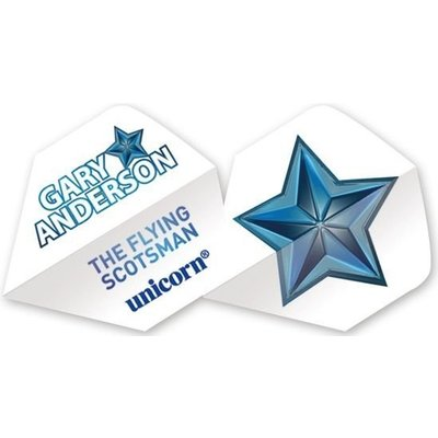 Authentic Gary Anderson Star flight