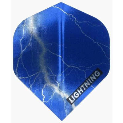 McKicks Metallic Lightning Ailettes Blue