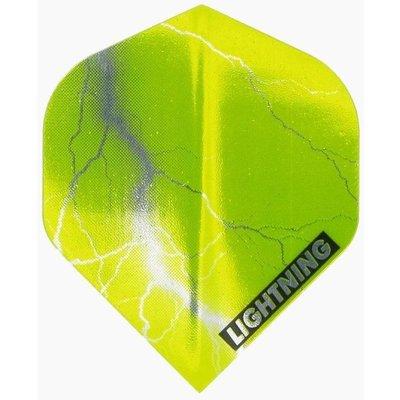 McKicks Metallic Lightning Ailettes Geel