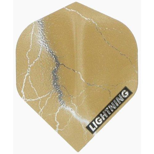 McKicks McKicks Metallic Lightning Ailettes Gold