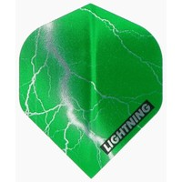 McKicks McKicks Metallic Lightning Ailettes Green