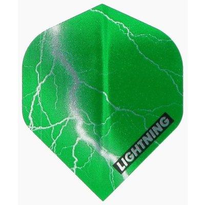 McKicks Metallic Lightning Ailettes Green