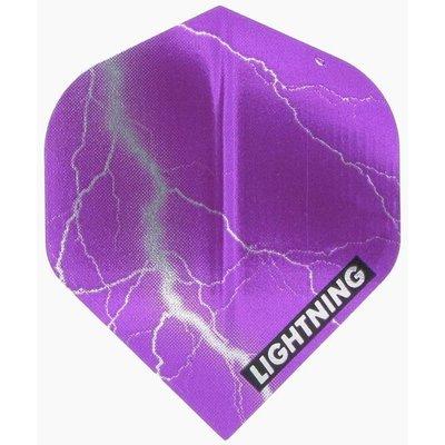 McKicks Metallic Lightning Ailettes Purple