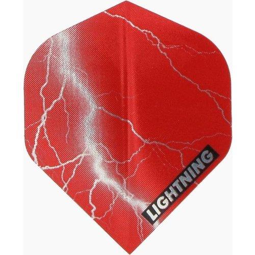 McKicks McKicks Metallic Lightning Ailettes Red