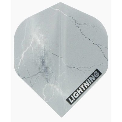 McKicks Metallic Lightning Ailettes Silver
