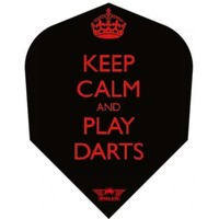 Bull's Powerflite Keep Calm and Play Darts