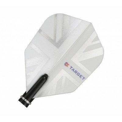 Target Vision 150 White Union Jack Standard