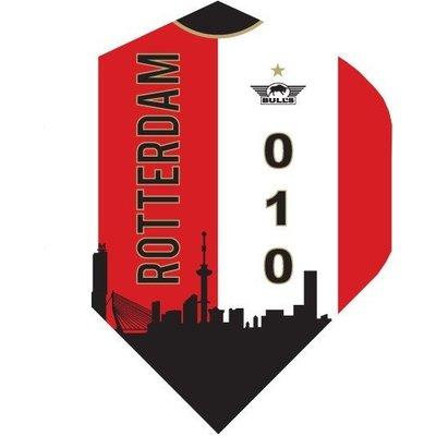Le foot Ailettess - Rotterdam Skyline Red